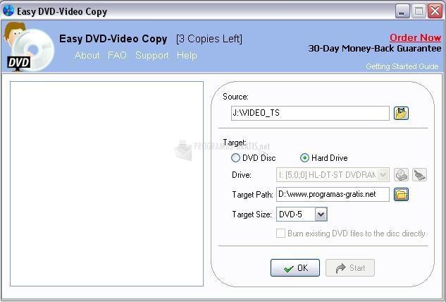 Pantallazo Easy DVD-Video Copy