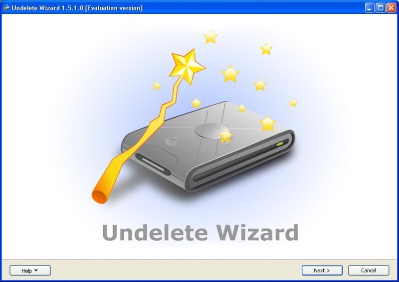 Pantallazo Undelete Wizard
