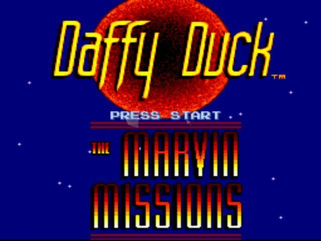 Pantallazo Daffy Duck: The Marvin Missions