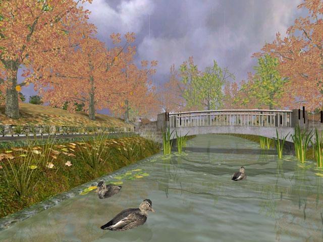 Pantallazo Golden Autumn 3D Screensaver