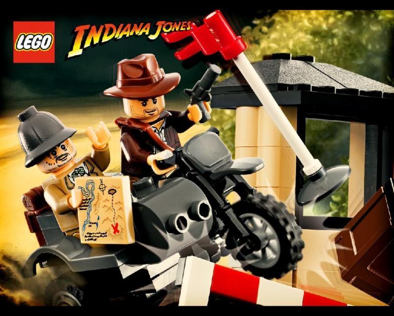 Pantallazo LEGO Indiana Jones Screensaver 1