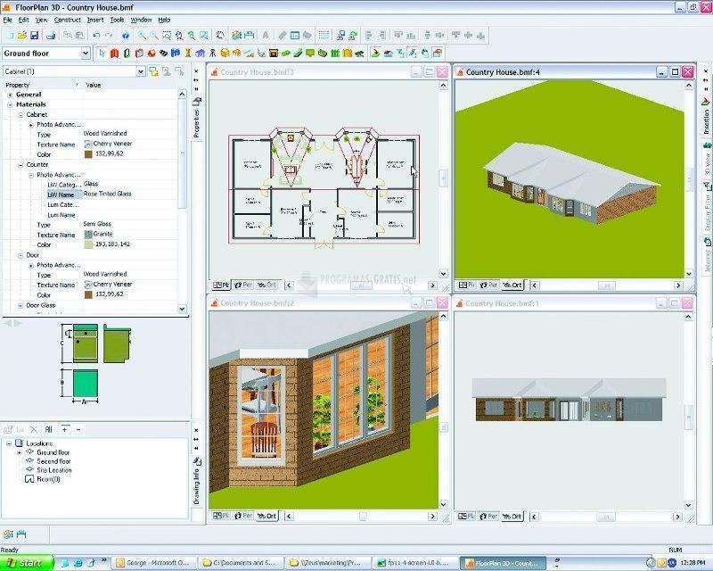 Pantallazo Floor Plan 3D
