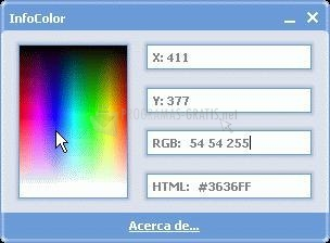 Pantallazo InfoColor