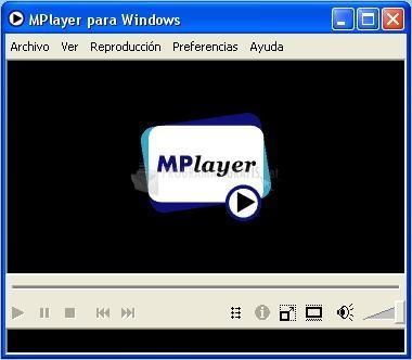 Pantallazo Mplayer Portable