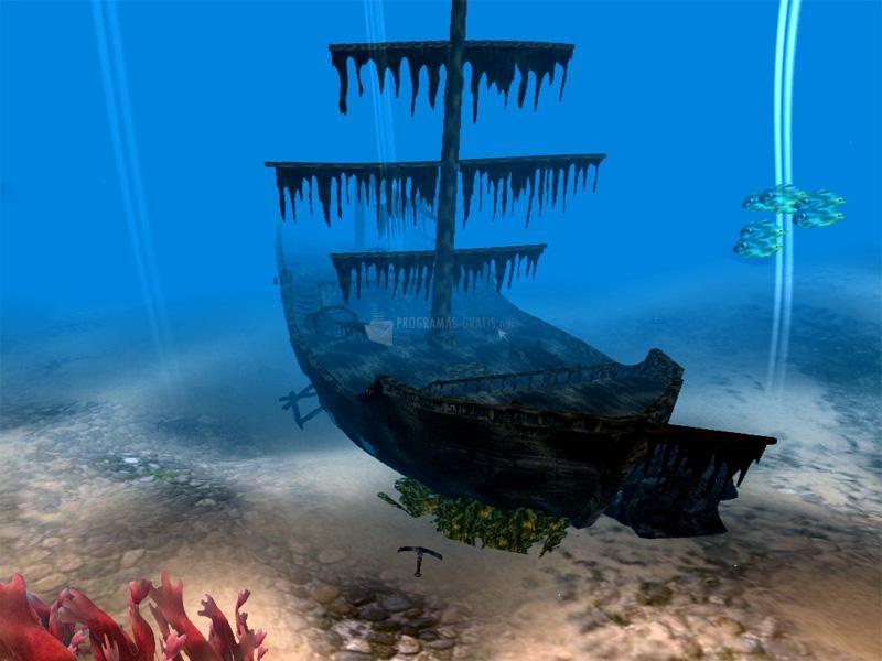 Pantallazo Pirate Ship 3D Screensaver