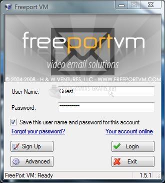 Pantallazo Free Port VM