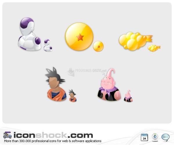 Pantallazo Dragon Ball Icons