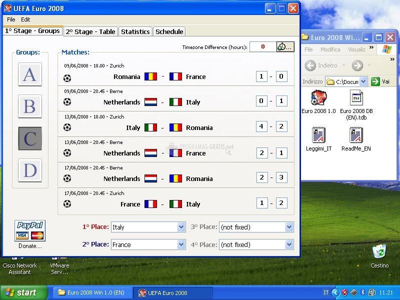 Pantallazo Euro 2008