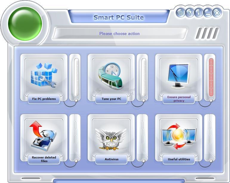 Pantallazo Smart PC Suite