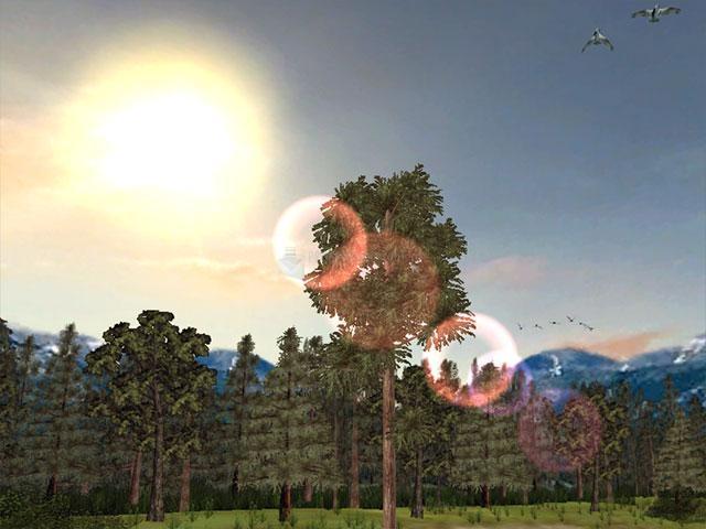 Pantallazo Mountain Lake 3D Screensaver