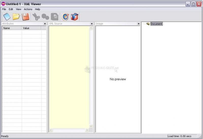 Pantallazo XML Viewer