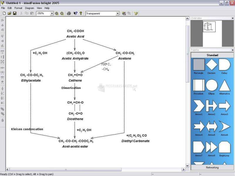 Pantallazo InSight Diagrammer 2006