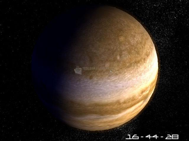 Pantallazo Planet Jupiter 3D Screensaver