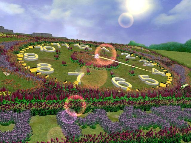 Pantallazo Flower Clock 3D Screensaver