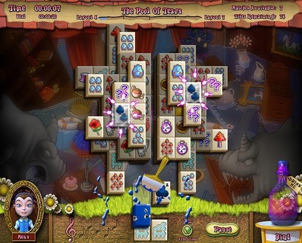 Pantallazo Alice`s Magical Mahjong Deluxe