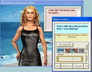 Pantallazo Virtual Woman Millennium Beta