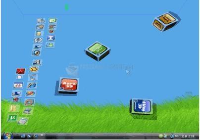 Pantallazo Shock Desktop 3D
