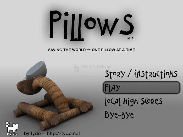Pantallazo Pillows