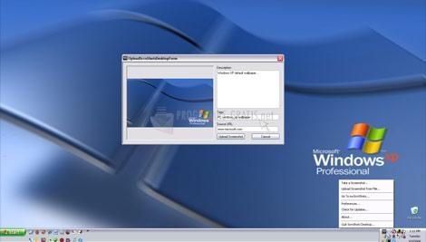 Pantallazo ScrnShots Desktop Beta