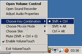Pantallazo Volume Touch