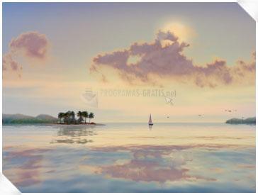 Pantallazo 3D Tropical Sunsets Screensaver