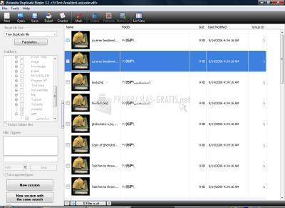 Pantallazo Vistanita Duplicate Finder