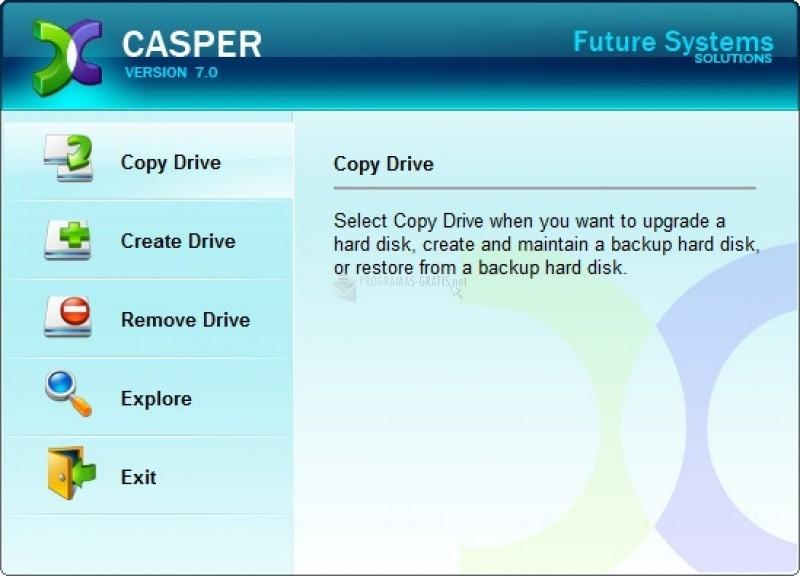Pantallazo Casper