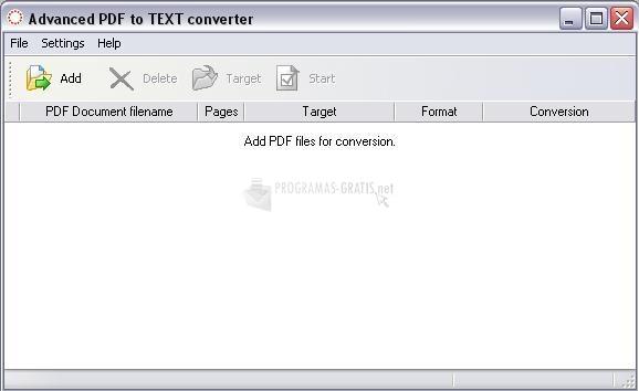 Pantallazo Intra PDF to Text Converter