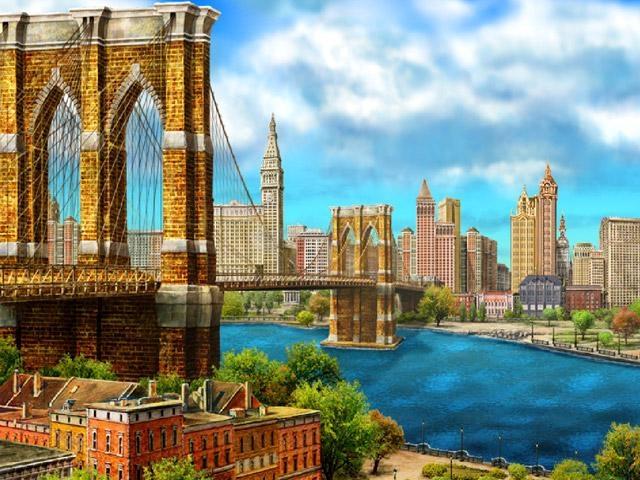 Pantallazo Around the World: New York Screensaver