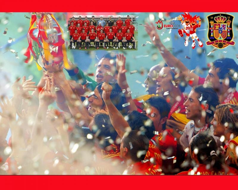 Pantallazo Celebracion Seleccion Española 2008