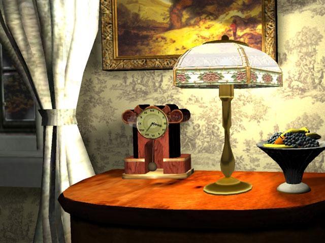 Pantallazo Free Old Clock Screensaver