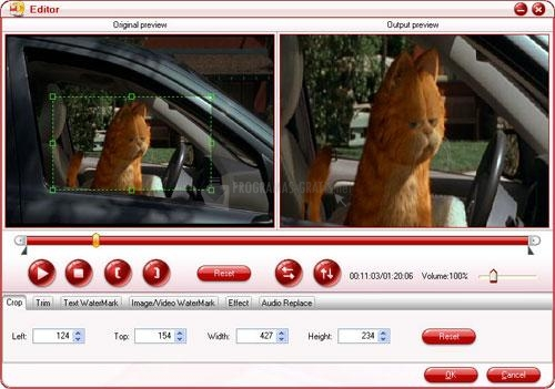 Pantalla Pavtube DVD to 3GP Converter