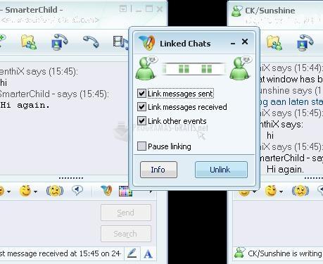 Pantallazo Linked Chats