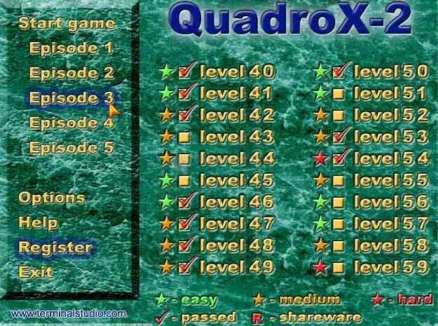 Pantallazo QuadroX