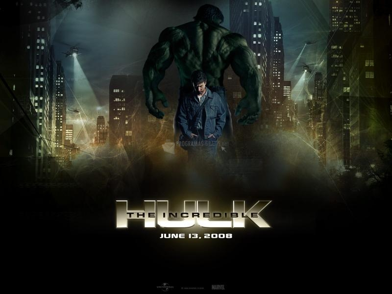 Pantallazo The Incredible Hulk – Wallpaper1