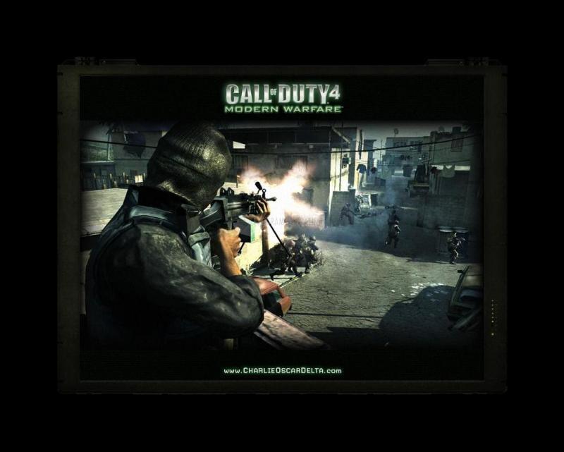 Pantallazo Call of Duty 4 Screensaver