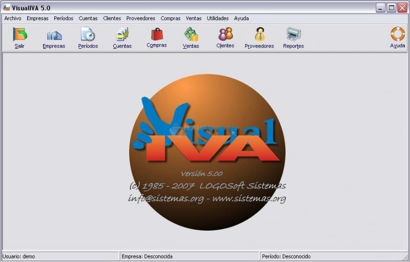 Pantallazo Visual IVA