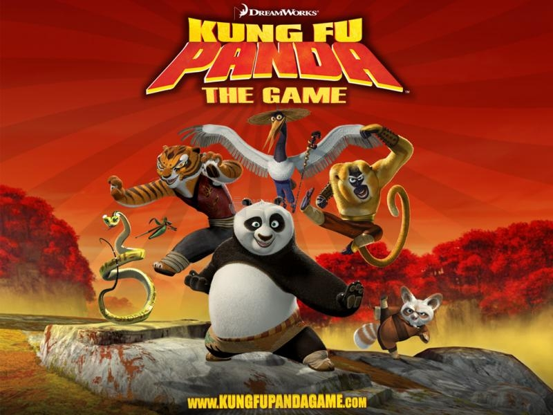 Pantallazo Kung Fu Panda Game Wallpaper2