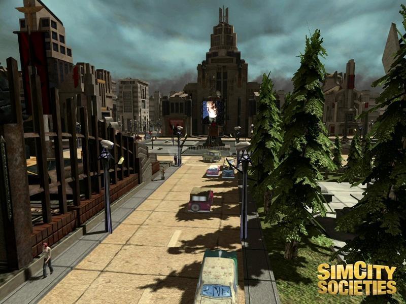 Pantallazo Sim City Societies