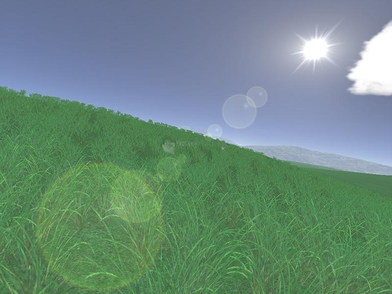 Pantallazo Green Fields 3D Screensaver