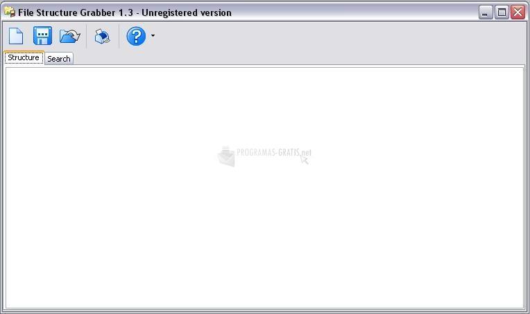 Pantallazo File Structure Grabber