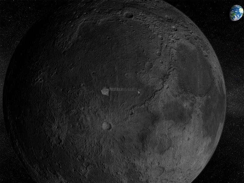 Pantallazo Moon 3D Screensaver