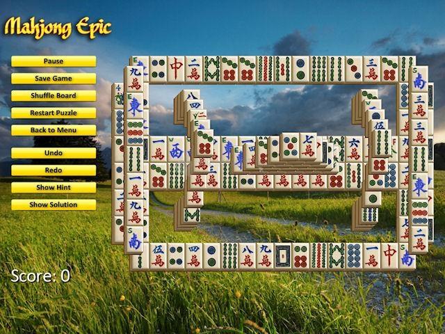 Pantallazo Mahjong Epic