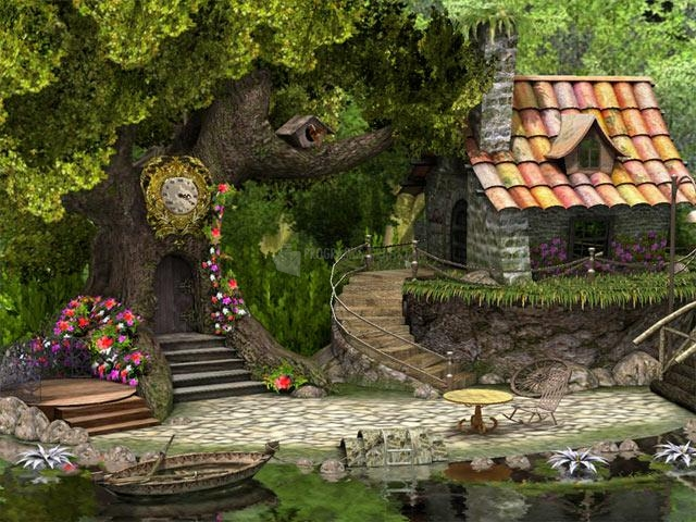 Pantallazo Little Dwarf 3D Screensaver