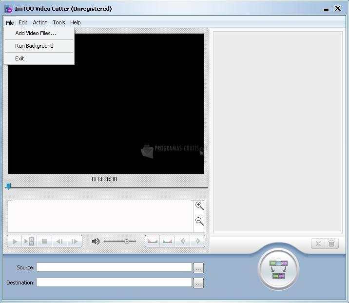 Pantallazo ImTOO Video Cutter