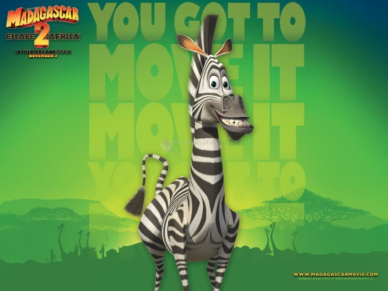 Pantallazo Madagascar 2: Wallpaper Marty