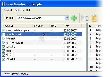 Pantallazo Free Monitor For Google