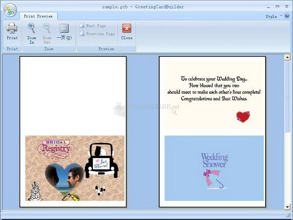 Imagen Greeting Card Builder