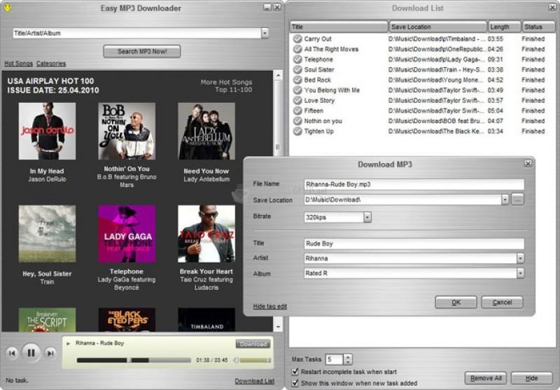 Pantallazo Easy MP3 Downloader