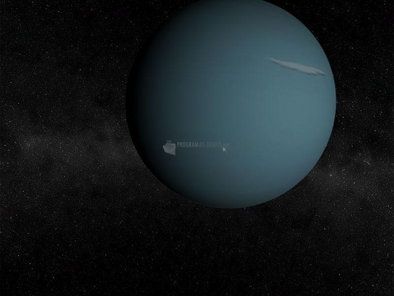 Pantallazo Uranus 3D Screensaver